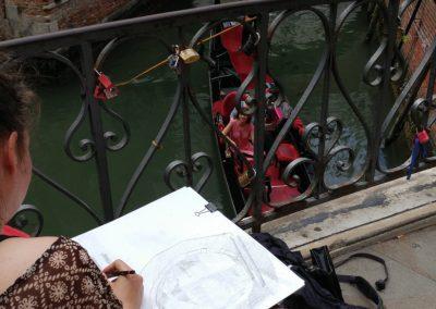 Stage du dessin_Venise_EBAMA_Miracoli_2017