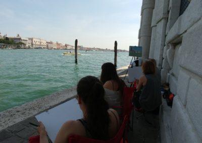 Stage du dessin_Venise_EBAMA_Punta della Dogana
