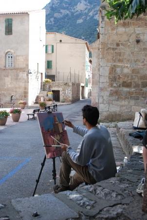 apprendre la peinture à villefranche de conflent