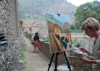 painting lessons ebama