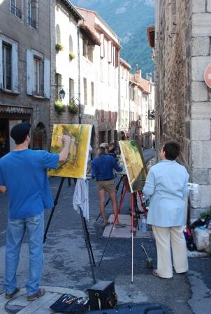 villefranche de conflent cours de peinture