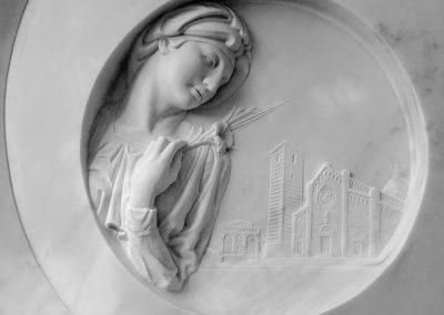 Marcello Giorgi_Nostra_Luna_Bas_Relief_Marble