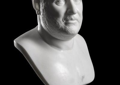 Marcello Giorgi_Roman_Emperor Balbinus_Marble