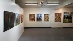 Exposition S. Brosseau et N. Kupriakov Galerie ARTUS