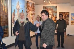 Armand Vaillancourt Nikolai Kupriakov vernissage EBAMA