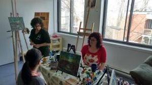 Lucie Auclair atelier creation EBAMA