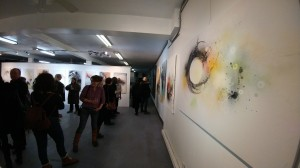 Robert Deschênes Vernissage. Galerie Artus