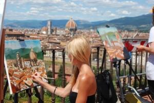 Apprendre à peindre à Florence. EBAMA