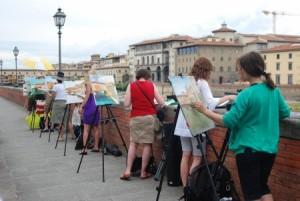 Apprendre la peinture à Florence